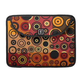 Retro Colorful Fifties Abstract Art 2 MacBook Pro Sleeve