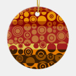 Retro Colorful Fifties Abstract Art 2 Ornaments