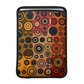 Retro Colorful Fifties Abstract Art MacBook Air Sleeve