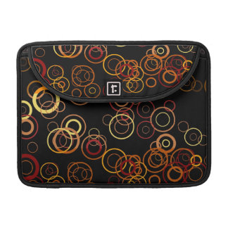 Retro Colorful Fifties Abstract Art MacBook Pro Sleeve