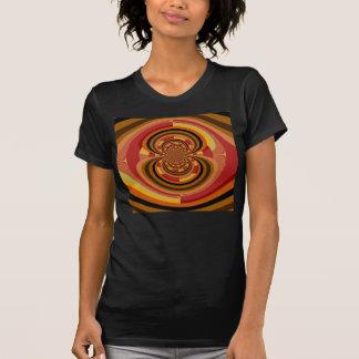 Retro Colorful Floral Art Nouveau Decoration T-Shirt