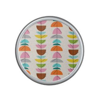 Retro Colorful Nests Bumpster Speaker