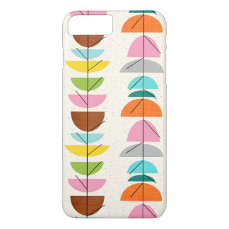 Retro Colorful Nests iPhone 7 Case