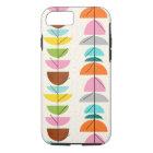 Retro Colorful Nests iPhone 7 Case