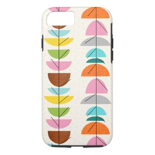 Retro Colorful Nests iPhone 7 Case Phone Case