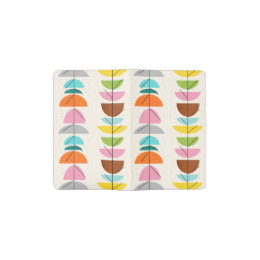 Retro Colorful Nests Notebook Cover