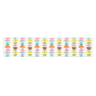 Retro Colorful Nests Table Runner