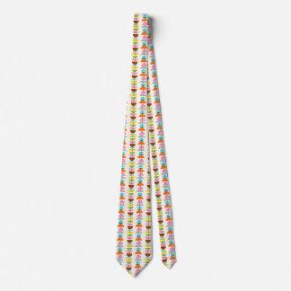 Retro Colorful Nests Tie