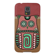 Retro Colorful Owl Boho Bohemian Bird Custom Galaxy S5 Case