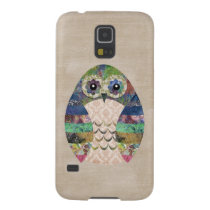 Retro Colorful Owl Boho Bohemian Bird Custom Galaxy S5 Cover