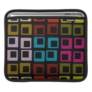 Retro Colorful Pattern Seamless Art iPad Sleeve