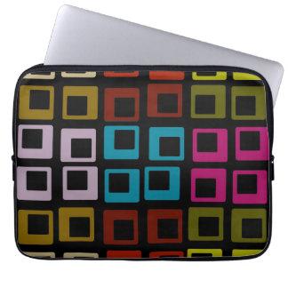 Retro Colorful Pattern Seamless Art Laptop Sleeve