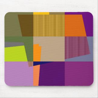 Retro Colorful Pop Art 2 Mouse Pad