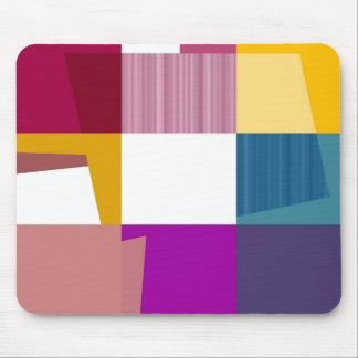 Retro Colorful Pop Art Mouse Pad