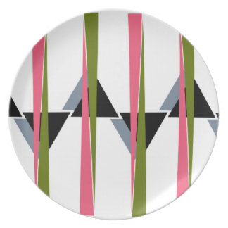 Retro Colors Plate