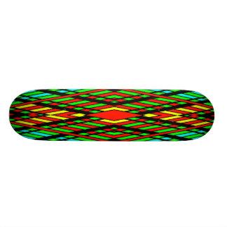 RETRO COLORS SKATE BOARDS