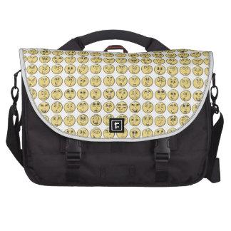 Retro Comic Book Emoji Messenger Bag Commuter Bags