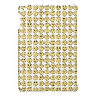 Retro Comic Book Emoji Pattern iPad Mini Cases