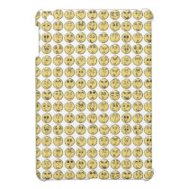 Retro Comic Book Emoji Pattern iPad Mini Covers