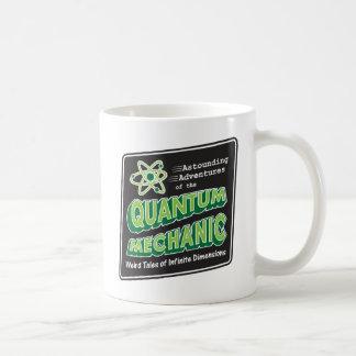 Retro Comic Book Style Geek Quantum Mechanics Coffee Mug