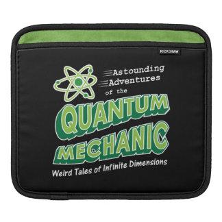 Retro Comic Book Style Geek Quantum Mechanics Sleeve For iPads