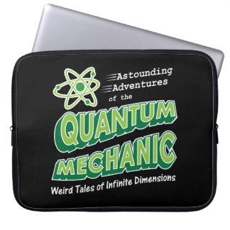 Retro Comic Book Style Geek Quantum Mechanics Laptop Sleeves