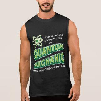 Retro Comic Book Style Geek Quantum Mechanics Sleeveless Shirt