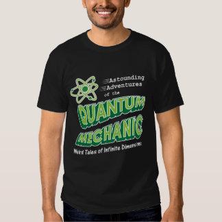 Retro Comic Book Style Geek Quantum Mechanics T Shirt