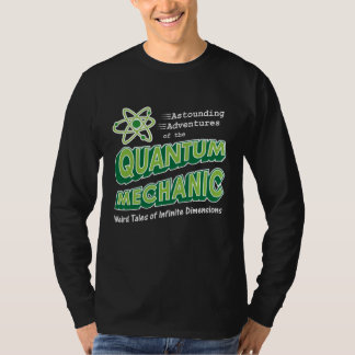 Retro Comic Book Style Geek Quantum Mechanics Tee Shirt