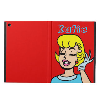 Retro Comic Strip Beauty iPad Air Case