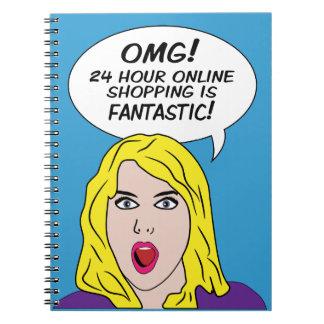 RETRO COMICS notebook