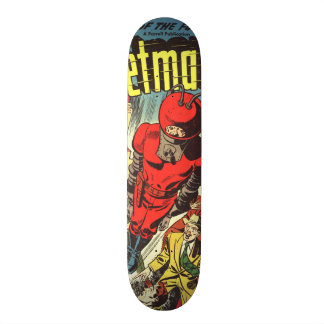Retro comics - Rocketman Skateboard Deck
