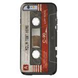 Retro Compact Audio Cassette | DJ Tough iPhone 6 Case