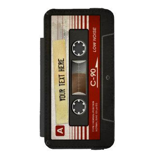 Retro Compact Audio Cassette Incipio Watson™ iPhone 5 Wallet Case