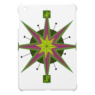 Retro Compass Design iPad Mini Covers