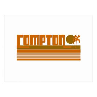 Retro Compton Postcard