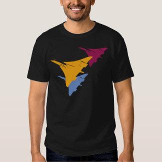 Retro Concorde Jet Airplane Aviation Flight Design T-shirt