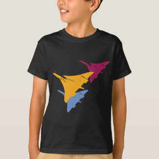 Retro Concorde Jet Airplane Aviation Flight Design T-Shirt