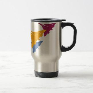 Retro Concorde Jet Airplane Aviation Flight Design Travel Mug