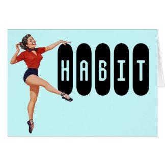 Retro Congratulations On Kicking the Habit Card