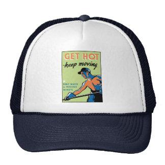 Retro consiga caliente guardan el moverse gorra