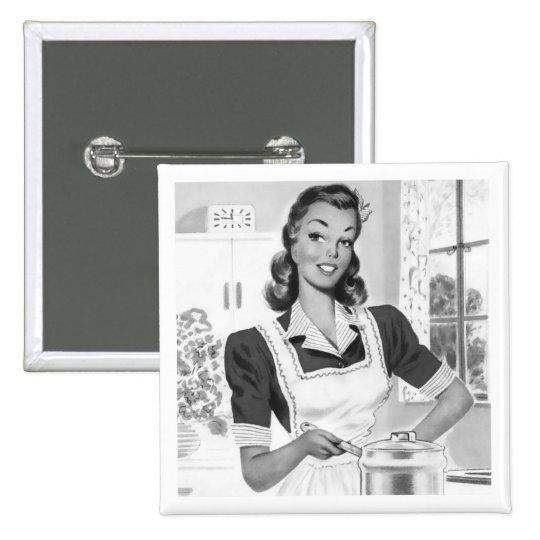 Retro Cook Button