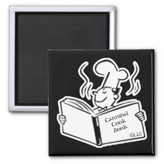Retro Cook - Cannibal Cook Book Magnet