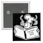 Retro Cook - Cannibal Cook Book Pin