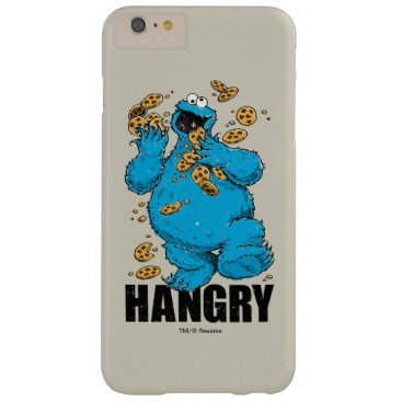 Retro Cookie Monster | Hangry Barely There iPhone 6 Plus Case