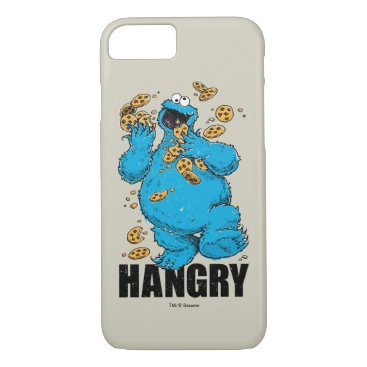 Retro Cookie Monster | Hangry iPhone 8/7 Case