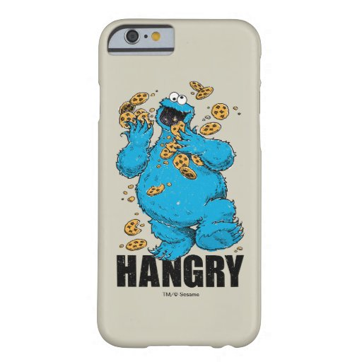 Retro Cookie Monster | Hangry Barely There iPhone 6 Case