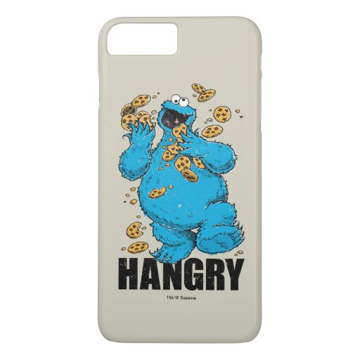 Retro Cookie Monster | Hangry iPhone 8 Plus/7 Plus Case