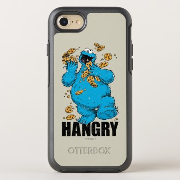 Retro Cookie Monster | Hangry OtterBox Symmetry iPhone 8/7 Case