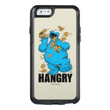 Retro Cookie Monster | Hangry OtterBox iPhone 6/6s Case